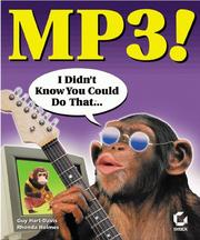 Cover of: MP3! I Didn't Know You Could Do That..