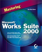Cover of: Mastering Microsoft Works Suite 2000