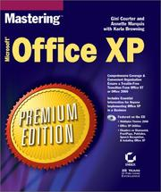 Cover of: Mastering Microsoft Office XP, premium edition |