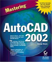 Cover of: Mastering AutoCAD 2002
