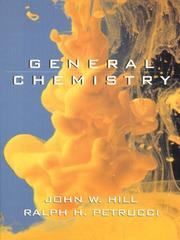 Cover of: General chemistry: an integrated approach