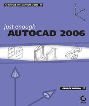 Cover of: Just Enough AutoCAD 2006 (Just Enough)