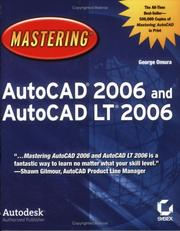 Cover of: Mastering AutoCAD 2006 and AutoCAD LT 2006 (Mastering)