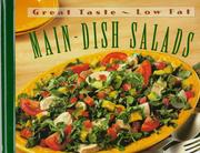 Cover of: Main-dish salads. |