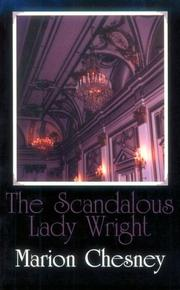 Cover of: The scandalous Lady Wright