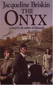 Cover of: The onyx