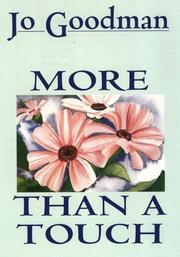 Cover of: More than a touch