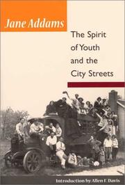 Cover of: The Spirit of Youth and City Streets (Illini Book)