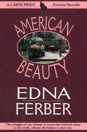 American Beauty by Edna Ferber