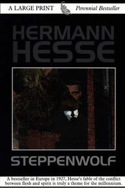Cover of: Steppenwolf | Hermann Hesse