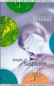 Cover of: Breath of suspicion