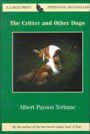 Cover of: The critter and other dogs