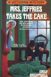 Cover of: Mrs. Jeffries takes the cake