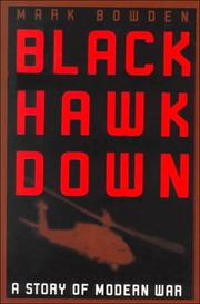 Cover of: Black Hawk Down: a story of modern war