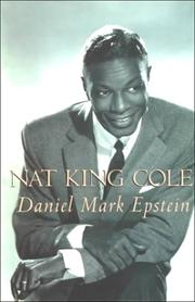 Cover of: Nat King Cole | Daniel Mark Epstein