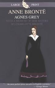 Cover of: Agnes Grey | Anne BrontГ«