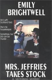 Cover of: Mrs. Jeffries takes stock