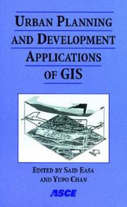 Cover of: Urban planning and development applications of GIS |