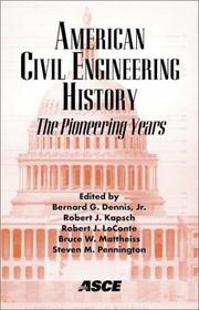 American Civil Engineering History