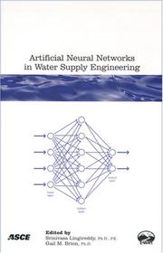 Cover of: Artificial neural networks in water supply engineering |