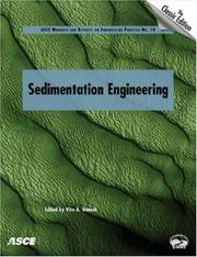 Cover of: Sedimentation engineering |