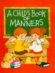Childs Book of Manners by Ruth Odor