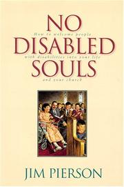 Cover of: No disabled souls