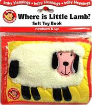Cover of: Where Is Little Lamb?: Soft Toy Book
