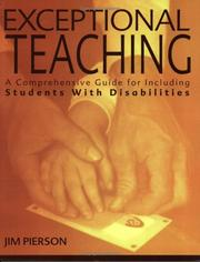 Cover of: Exceptional Teaching