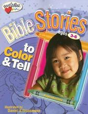 Cover of: Bible Stories To Color & Tell | Dan Grossmann
