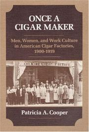 Cover of: ONCE A CIGAR MAKER
