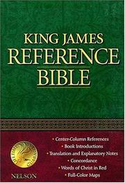 Cover of: Nelson Reference Bible |