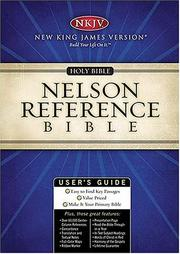 Cover of: Holy Bible Nelson Reference Bible |