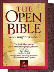 Cover of: The Open Bible | Thomas Nelson Publishers