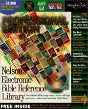 Nelsons Electronic Bible Reference Library