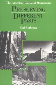 Cover of: Preserving different pasts