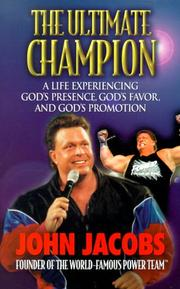 Cover of: The ultimate champion