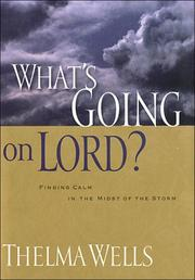 Cover of: What's going on, Lord?