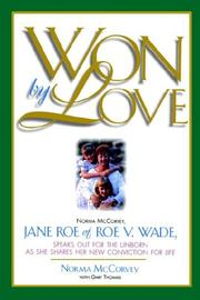 Cover of: Won by Love | Norma McCorvey