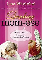 Cover of: Speaking mom-ese