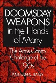 Cover of: Doomsday weapons in the hands of many
