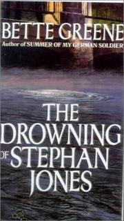 Cover of: The Drowning of Stephan Jones