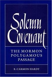 Cover of: Solemn covenant