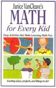 Cover of: Math for Every Kid | Janice Vancleave