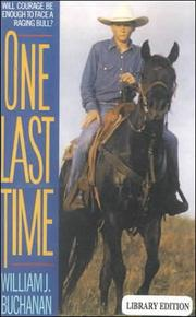 Cover of: One Last Time