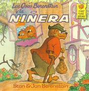 Cover of: Los Osos Berenstain Y LA Ninera (Berenstain Bears First Time Books