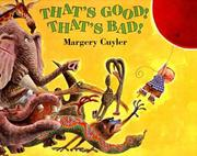 Cover of: That's Good! That's Bad! (Owlet Book)