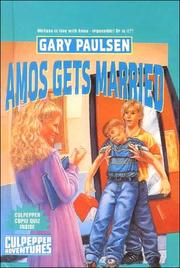 Cover of: Amos Gets Married | Gary Paulsen