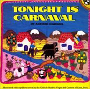 Cover of: Tonight Is Carnaval | Arthur Dorros