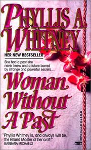 Cover of: Woman without a past